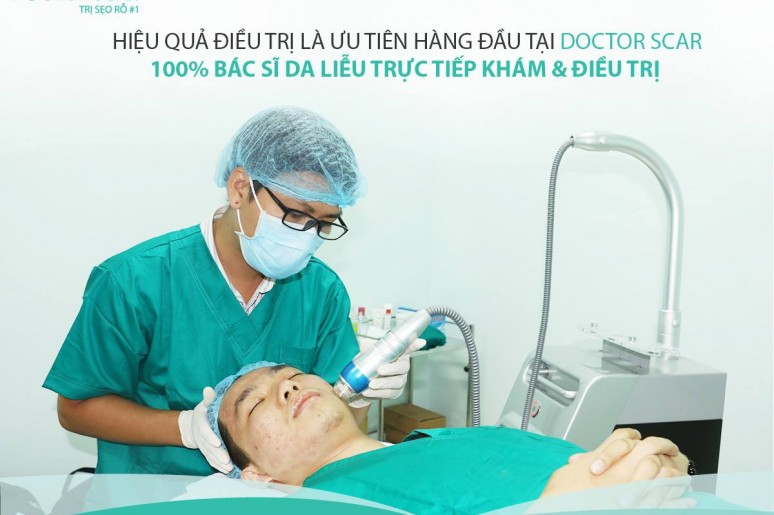 Kết quả điều trị sẹo rỗ thành công của khách hàng là minh chứng cho chất lượng tại Doctor Scar