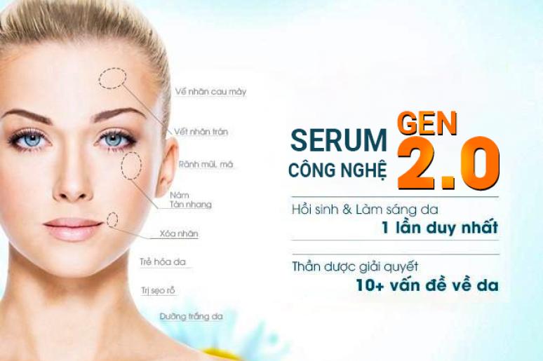 Phương pháp Lăn kim kết hợp Serum Công nghệ Gen 2.0 tại Doctor Scar và những ưu điểm nổi bật
