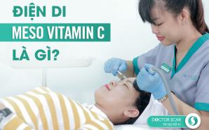 Dịch vụ điện di meso vitamin C trị thâm, sáng da tại Doctor Scar